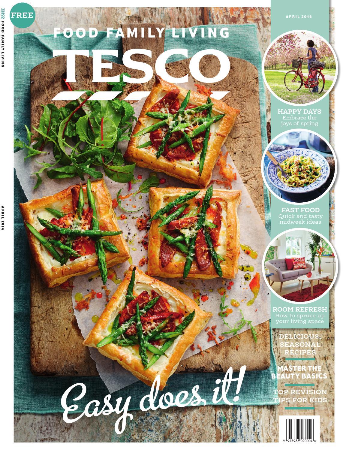 Tesco Magazine April 2016 By Issuu Happy Baby Organic Puffs Combo C Strawberry Beet Sweet Potato
