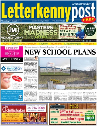 Letterkenny post 31 03 16 by River Media Newspapers issuu
