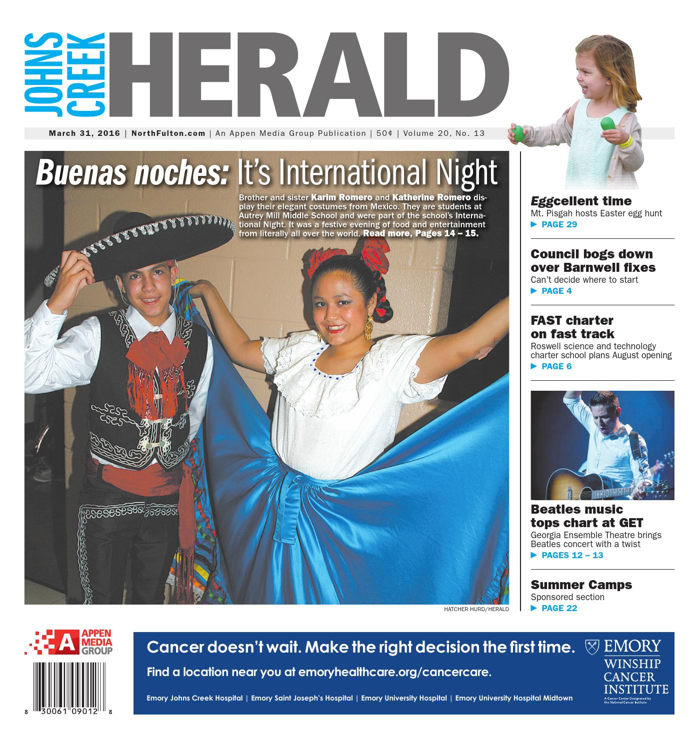 Johns Creek Herald March 31 2016 By Appen Media Group Issuu