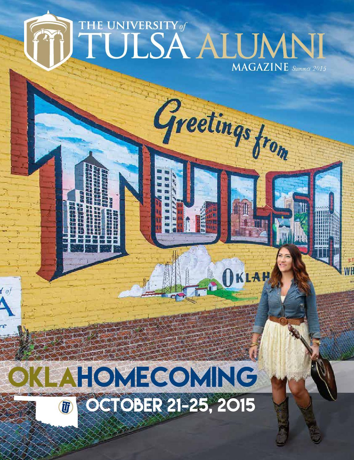 TU Alumni Magazine - Homecoming 2015 by The University of