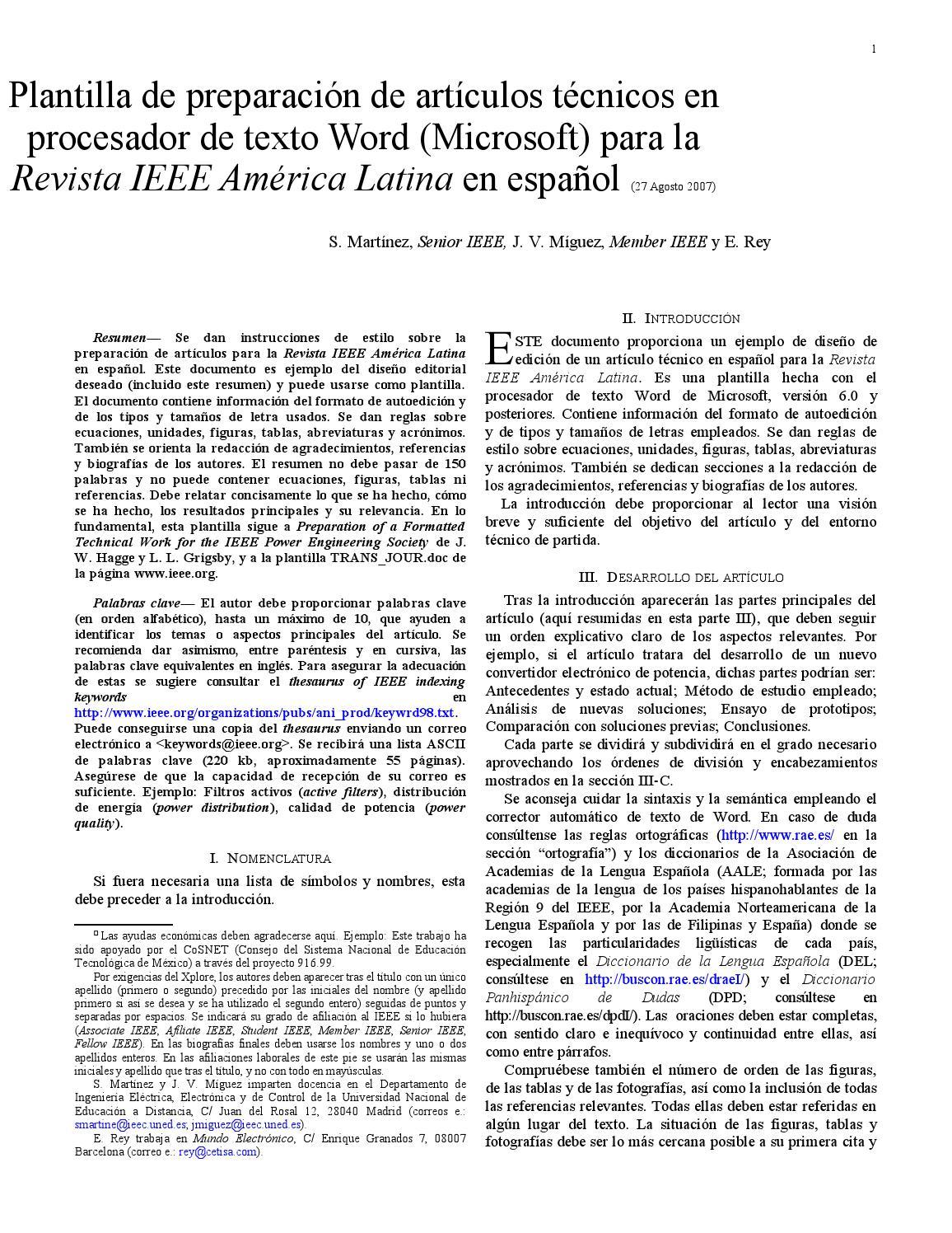 Plantilla Según Norma IEEE by FabBiss Last - issuu