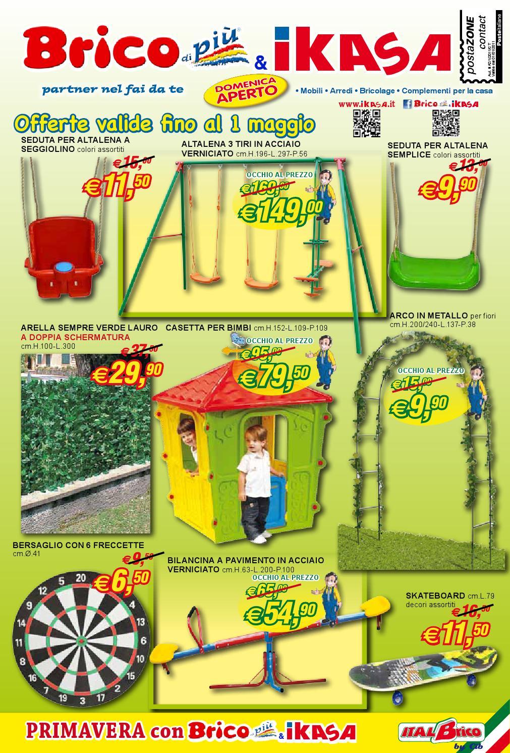 brico di pi ikasa volantino promozionale aprile 2016 by