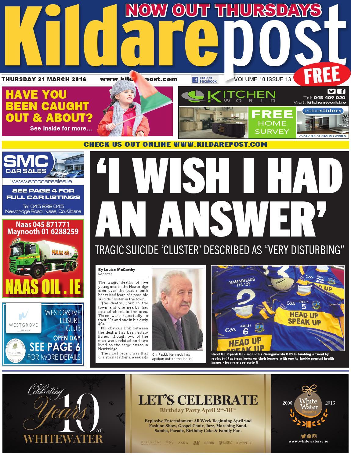 Newbridge drugs crisis - Leinster Leader