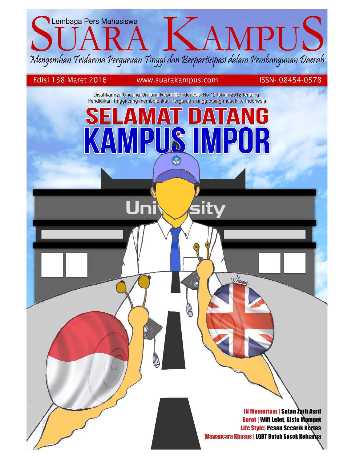 Edisi 138 By Suara Kampus Issuu