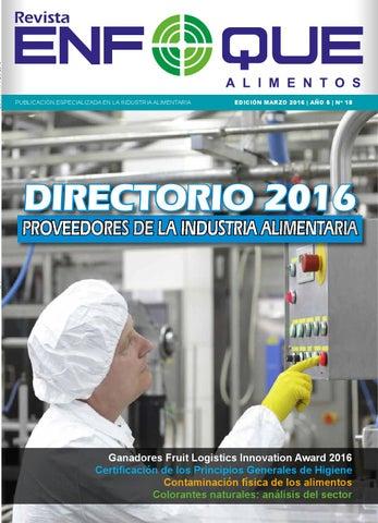 enfoque alimentos n186 18 marzo y directorio 2016 by revista