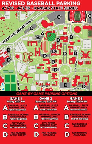 K-State Series Parking Map by Texas Tech Athletics - issuu