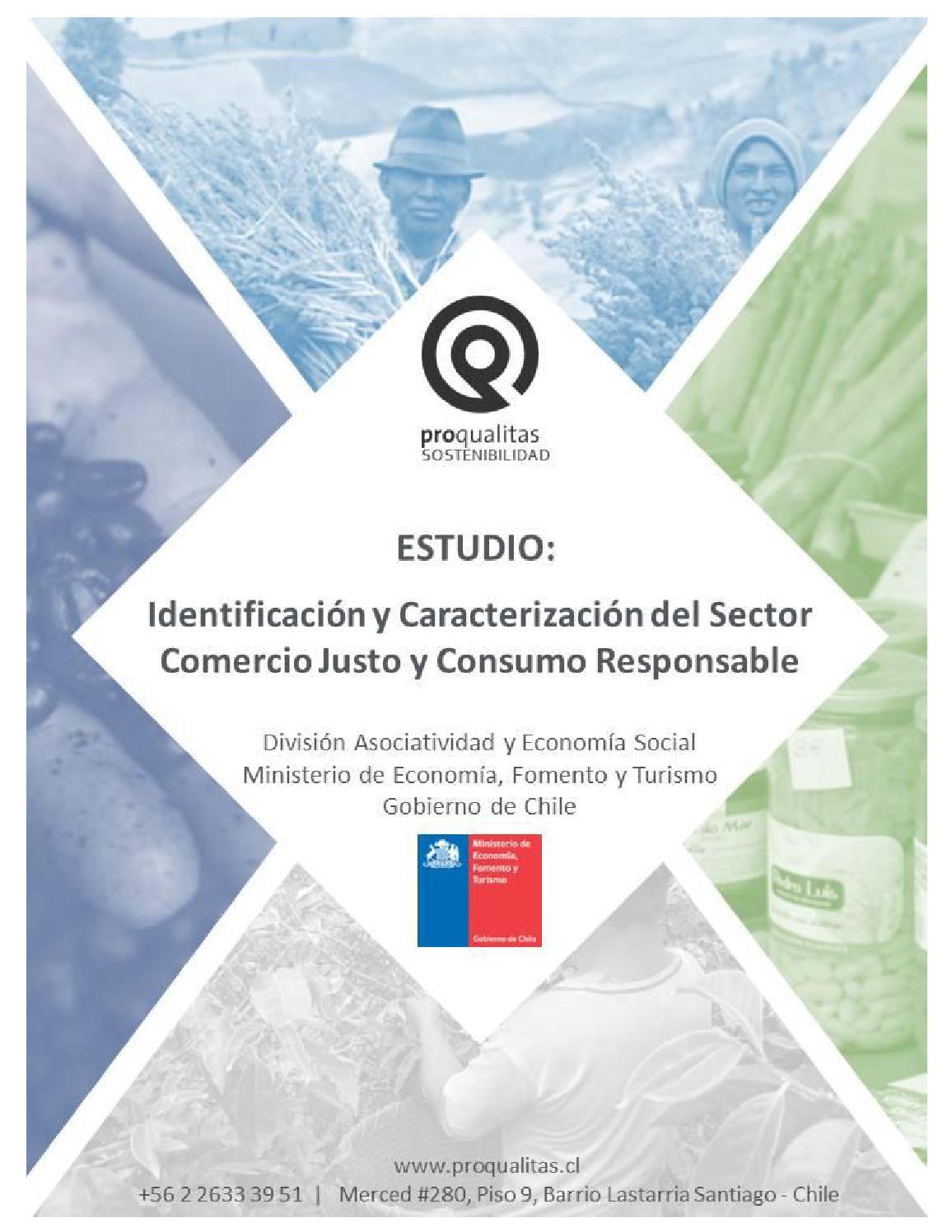 Identificacion y Caracterizacion del Sector Comercio Justo y Consumo ...