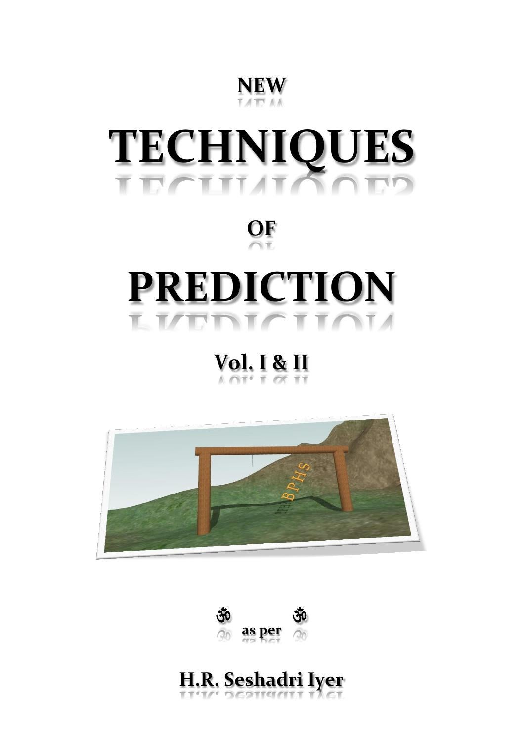 New techniques of prediction by sarfraz shah - issuu