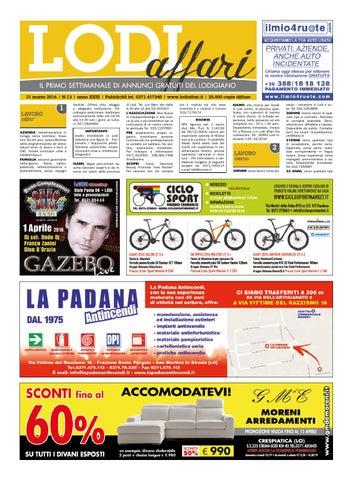 Lodi Affari 31 Marzo by Lodi Affari - issuu 4674f563a7f