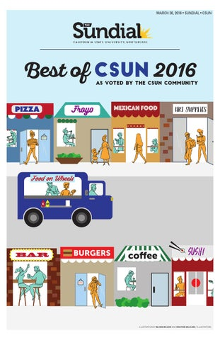 Best Of CSUN 2016 By The Sundial