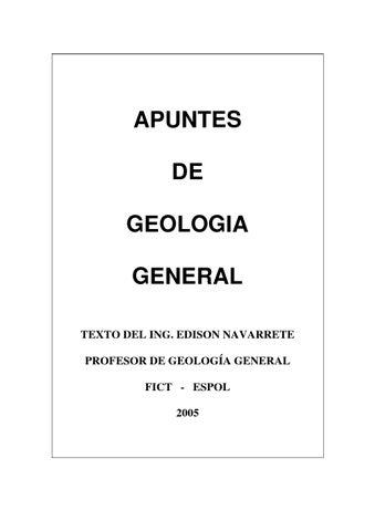 Apuntes de geologia general by Cili Ramirez Ballesteros - issuu
