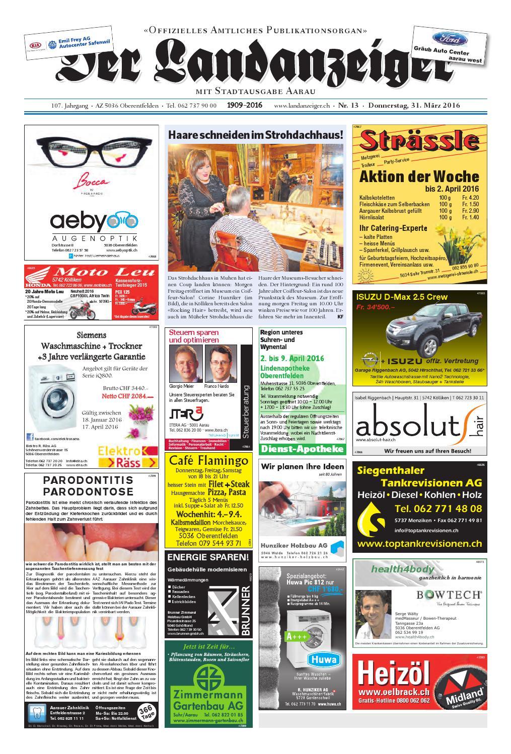 Der Landanzeiger 13 16 by ZT Medien AG - issuu 68a5e7fbe2