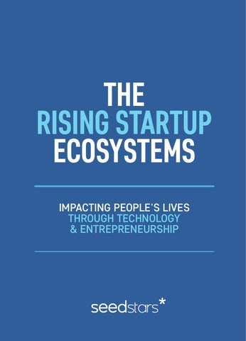eb1578ac7e8 The Rising Startup Ecosystems by Seedstars World - issuu