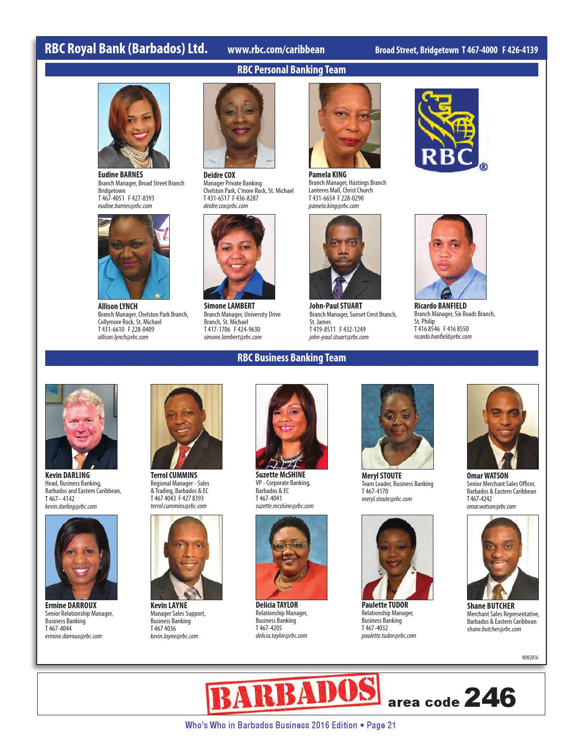Who's Who in Barbados Business 2016 iEdition by Patrick