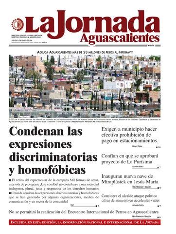 LJA31032016 by La Jornada Aguascalientes - issuu