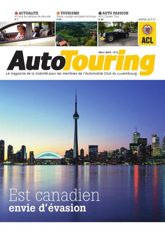 dd363453edacc0 Autotouring - Mars 2016 by ACL - issuu