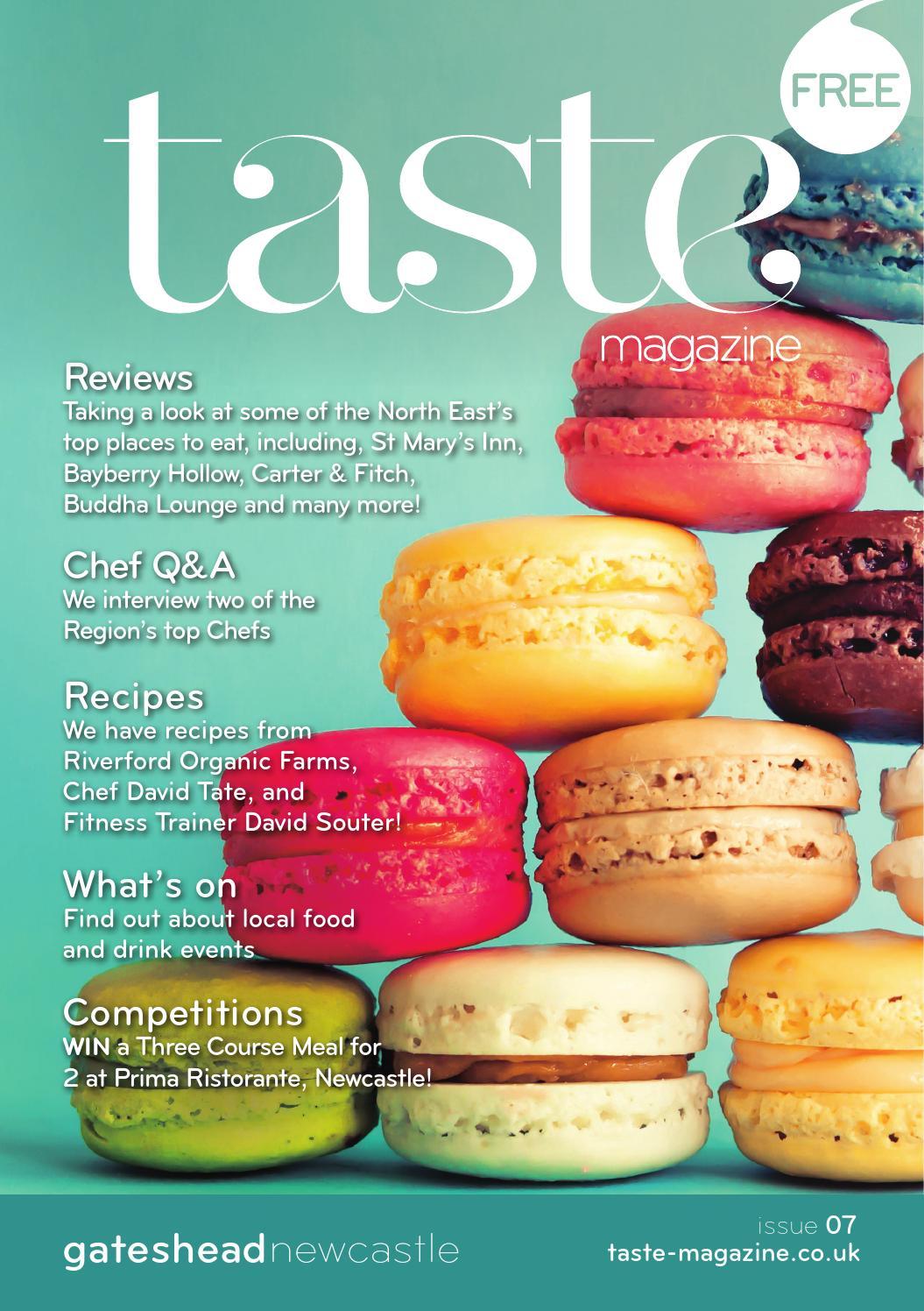 Taste Magazine Issue #7 by Taste Magazine - issuu