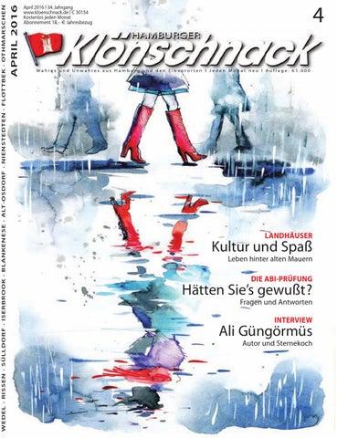 Klonschnack April 2016 By Hamburger Klonschnack Issuu