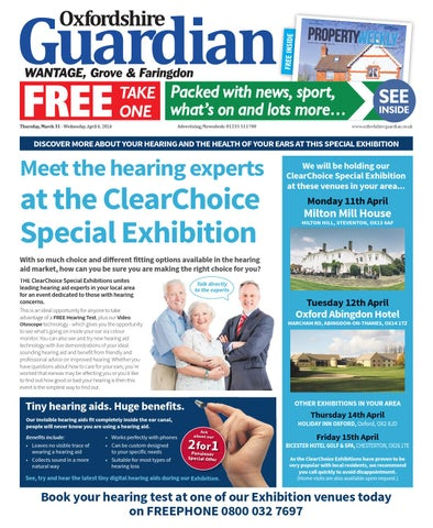 best website e9446 b1b8d 31 march 2016 oxfordshire guardian wantage by Taylor Newspapers - issuu