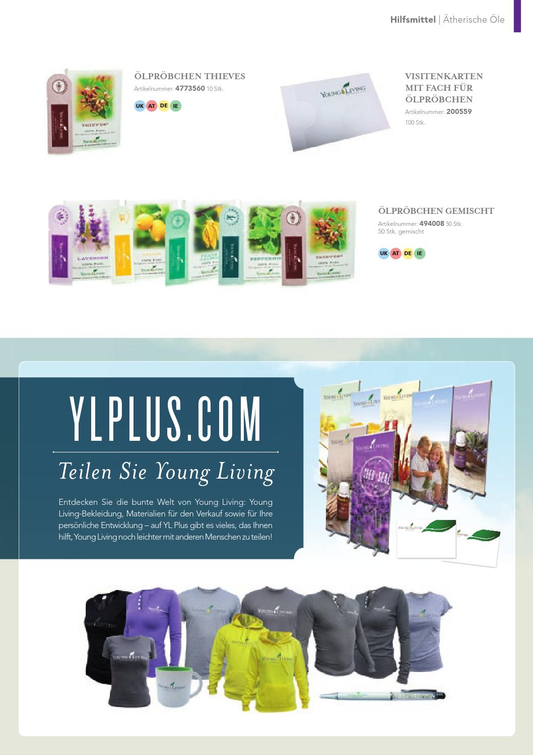 Young Living Europe Product Guide De By Young Living