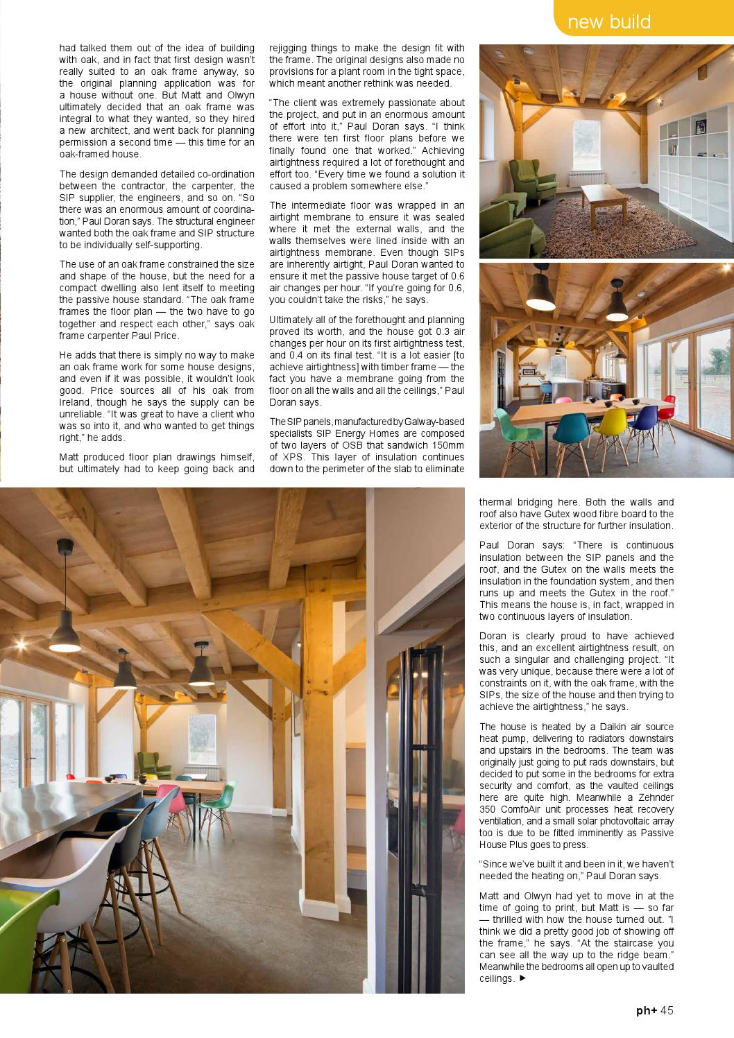 Passive House Plus Issue 15 Uk Edition By Passive House Plus Sustainable Building Issuu