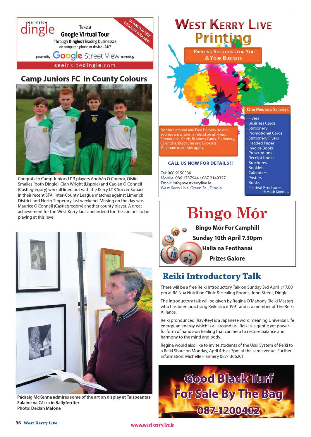 West kerry live issue 175 by west mid kerry live issuu reheart Image collections