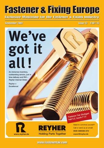 Fastener Fixing Magazine 47 By Fastener Fixing Magazine