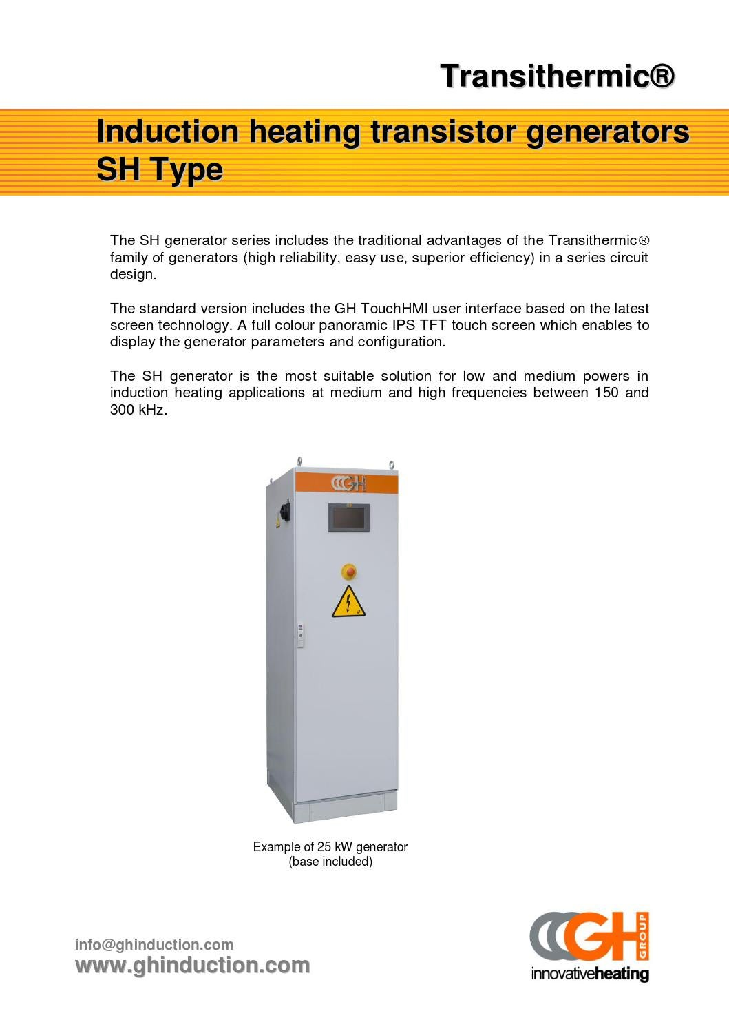 Transthermic Sh By Gh Induction Issuu Uses Of Series Circuit