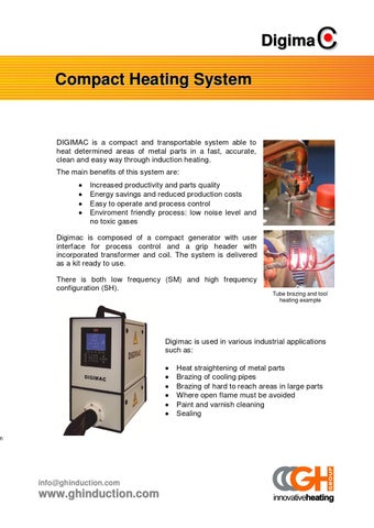 Digimac - Compact heating system by GH Induction - issuu