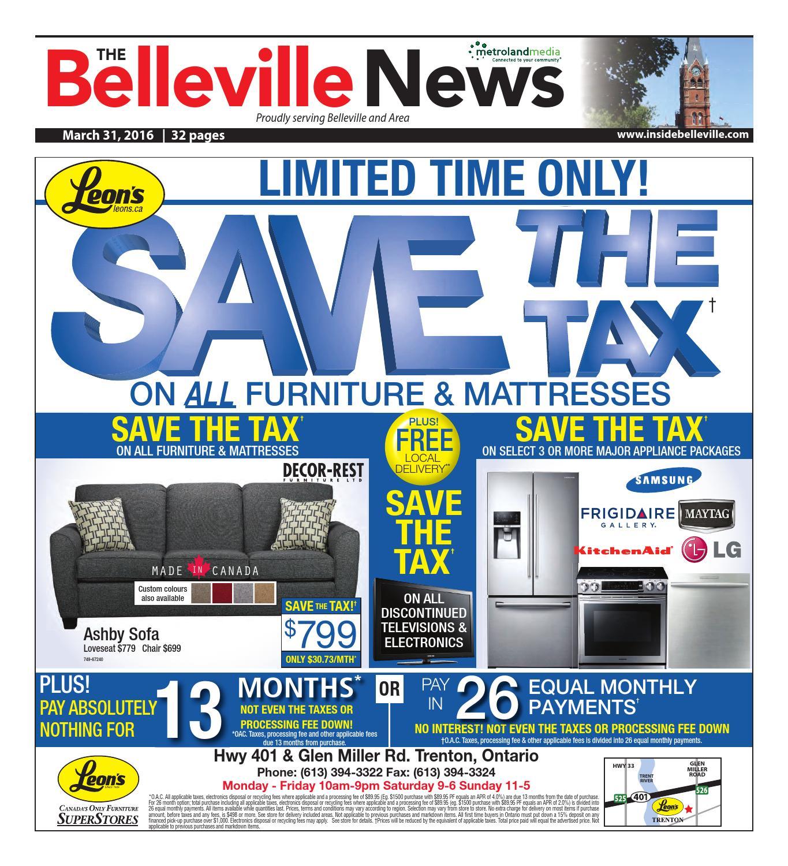 Groovy Belleville033116 By Metroland East Belleville News Issuu Unemploymentrelief Wooden Chair Designs For Living Room Unemploymentrelieforg