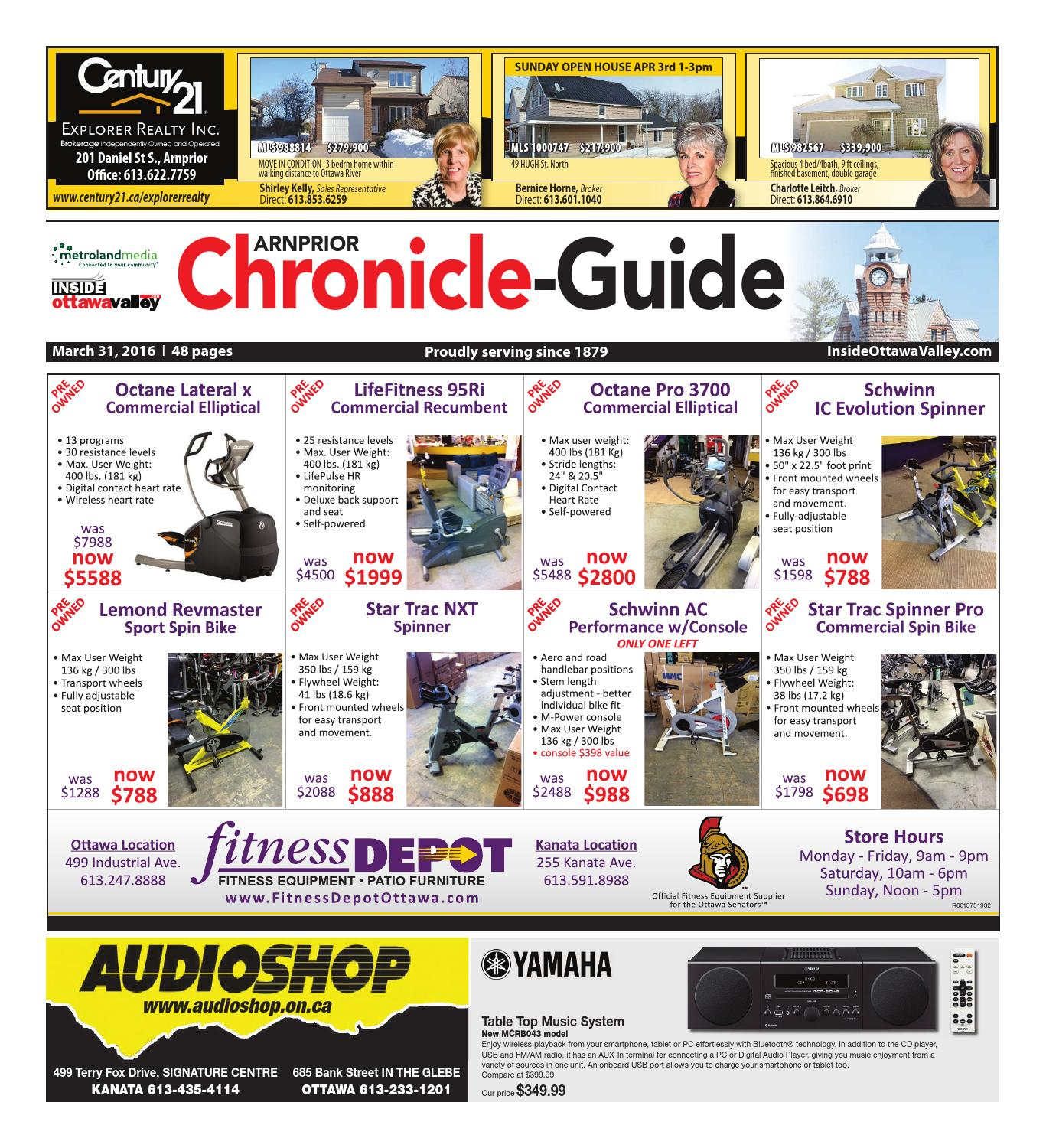 Arnprior033116 By Metroland East Arnprior Chronicle Guide Issuu Morris Xchange Xclusive 125ml Silver