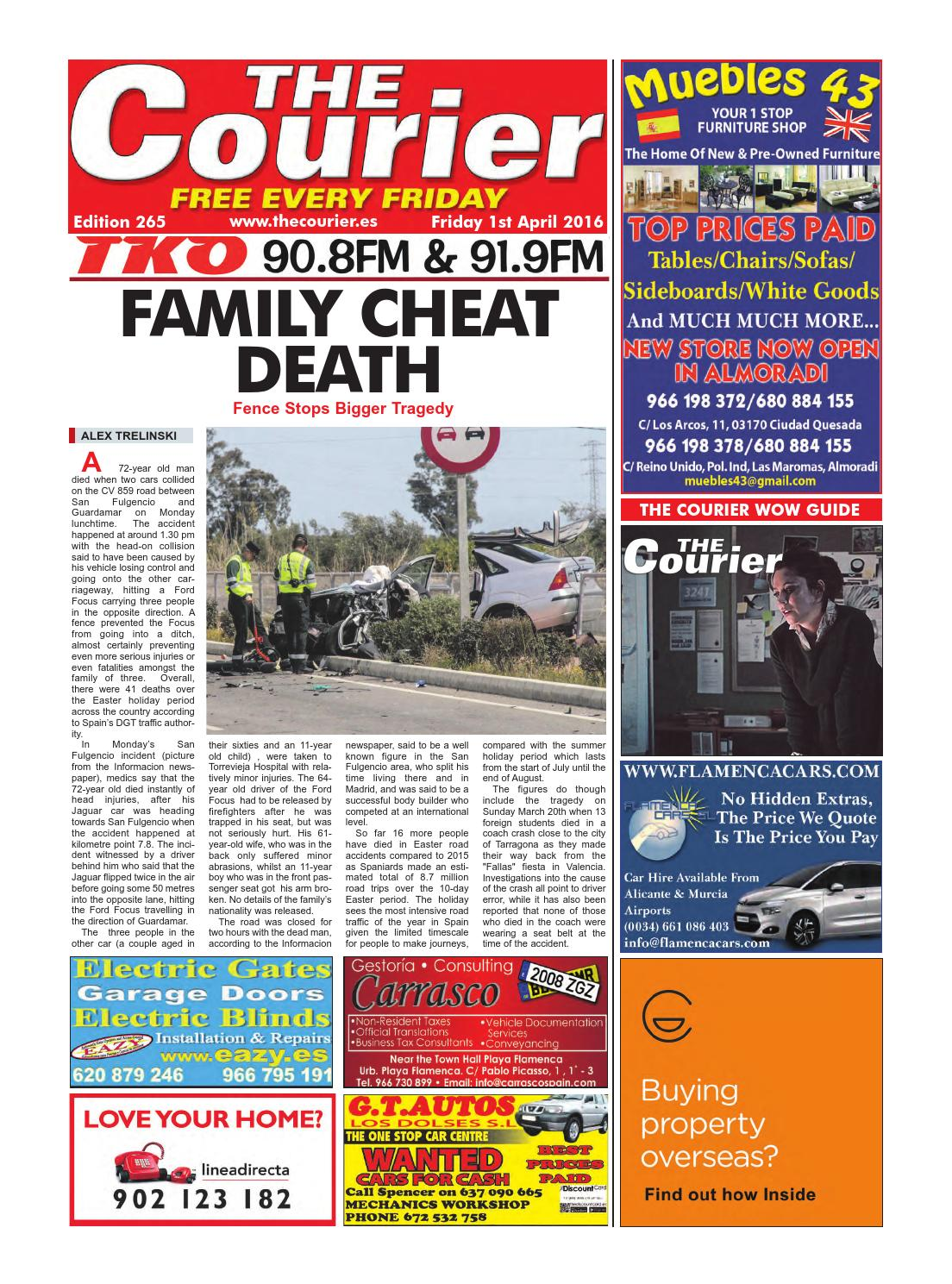 The Courier Edition 265 By The Courier Newspaper Issuu