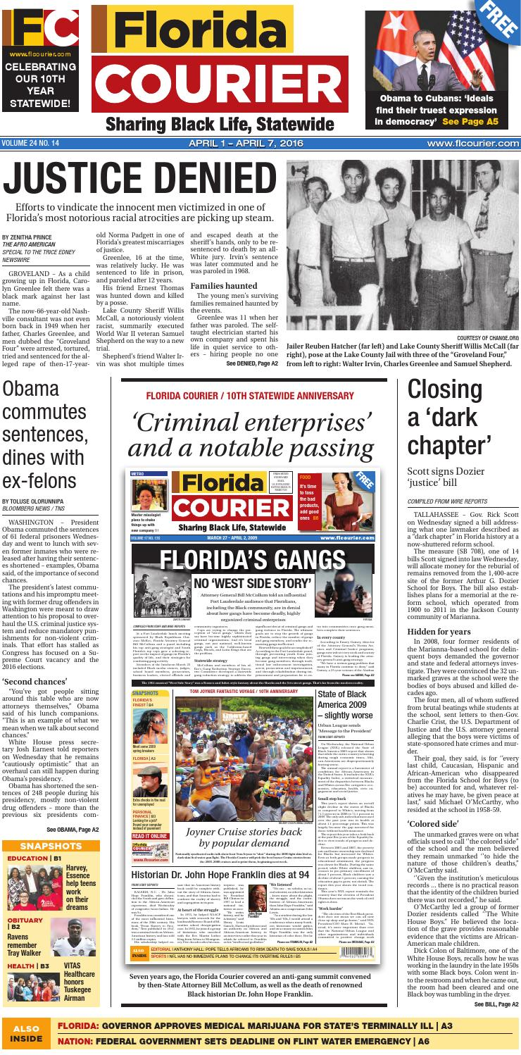 Florida Courier April 01 2016 By Central Florida Communicators Group LLC Issuu