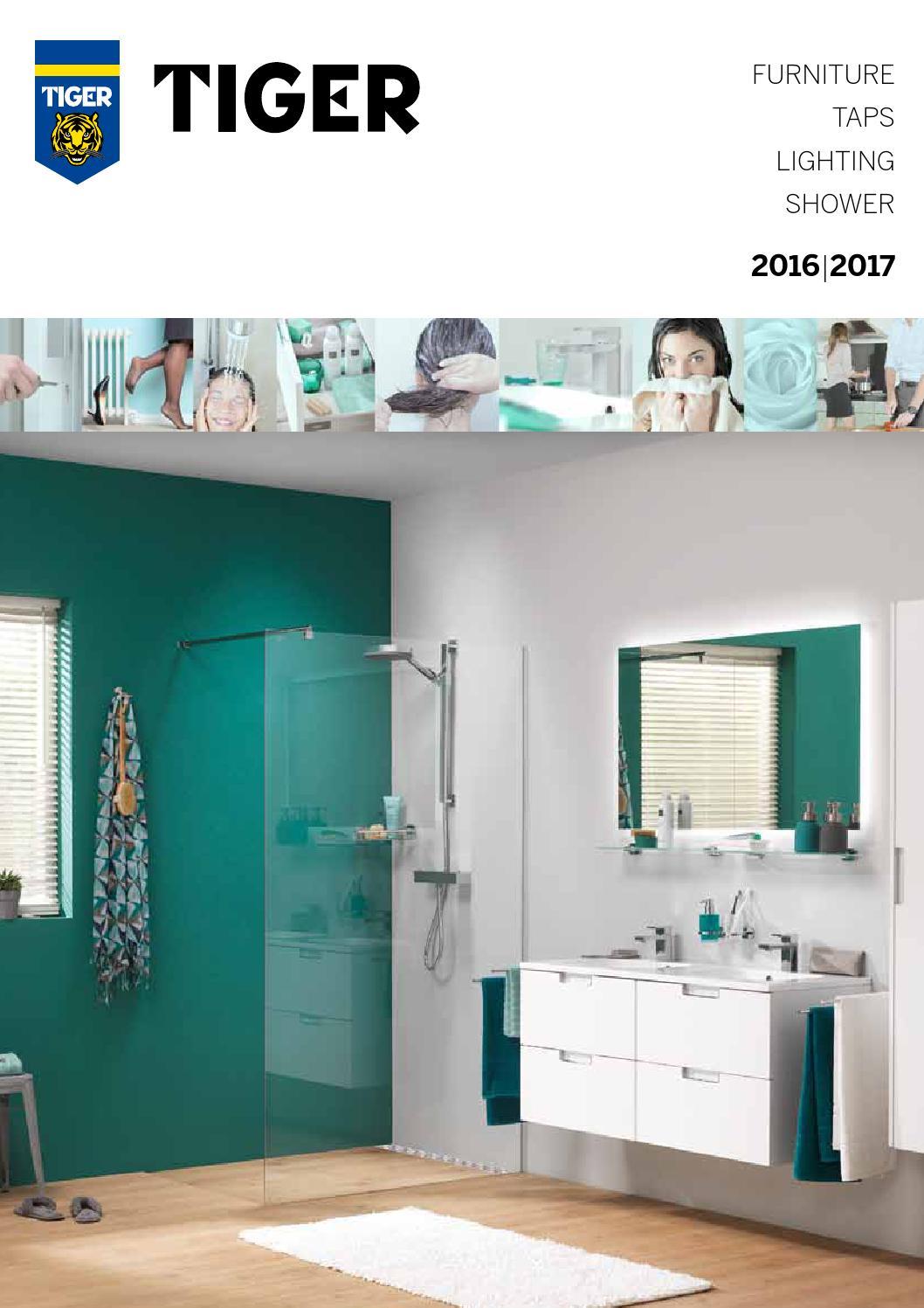 Tiger Bathroom Design Magazine 2016 Furniture Taps Lighting Shower ...