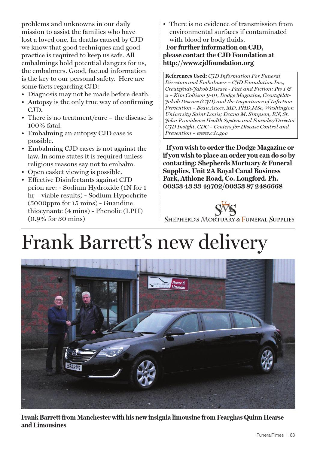 Funeral times issue 1 2016 new by Inhouse - issuu