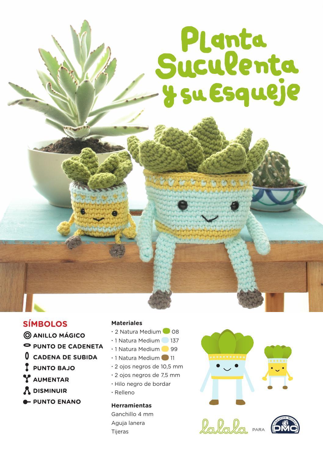Patrón ganchillo plantas de Lalala Toys para DMC by DMC_crafts - issuu