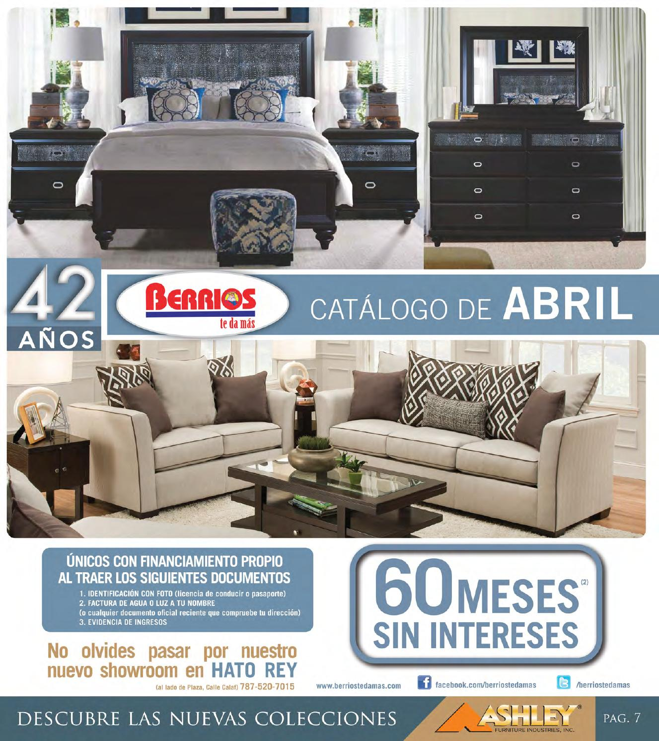 Delightful Mueblerías Berrios | Shopper Catálogo De Abril By Berrios   Issuu