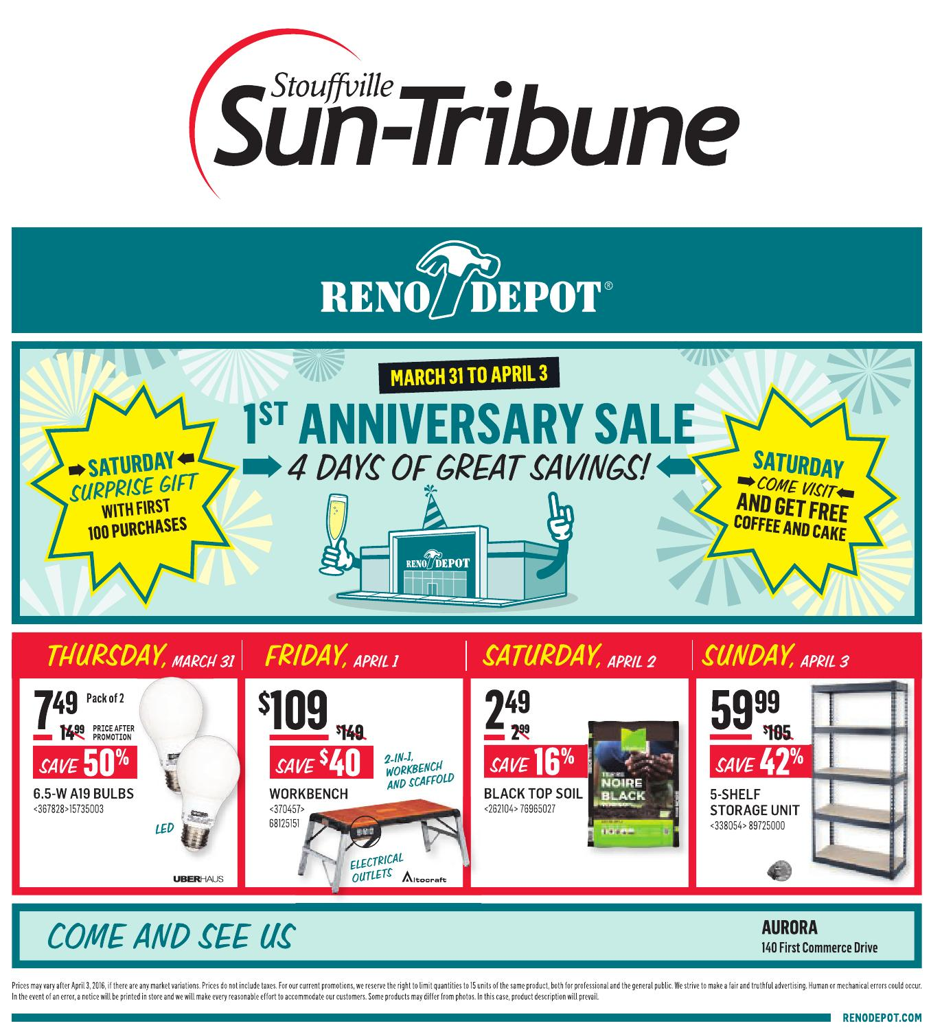 Stoufville Sun, March 31 2016 by Stouffville Sun-Tribune - issuu