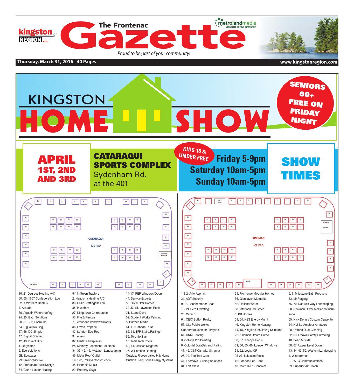 Frontenac 033116 by Metroland East - Frontenac Gazette - issuu