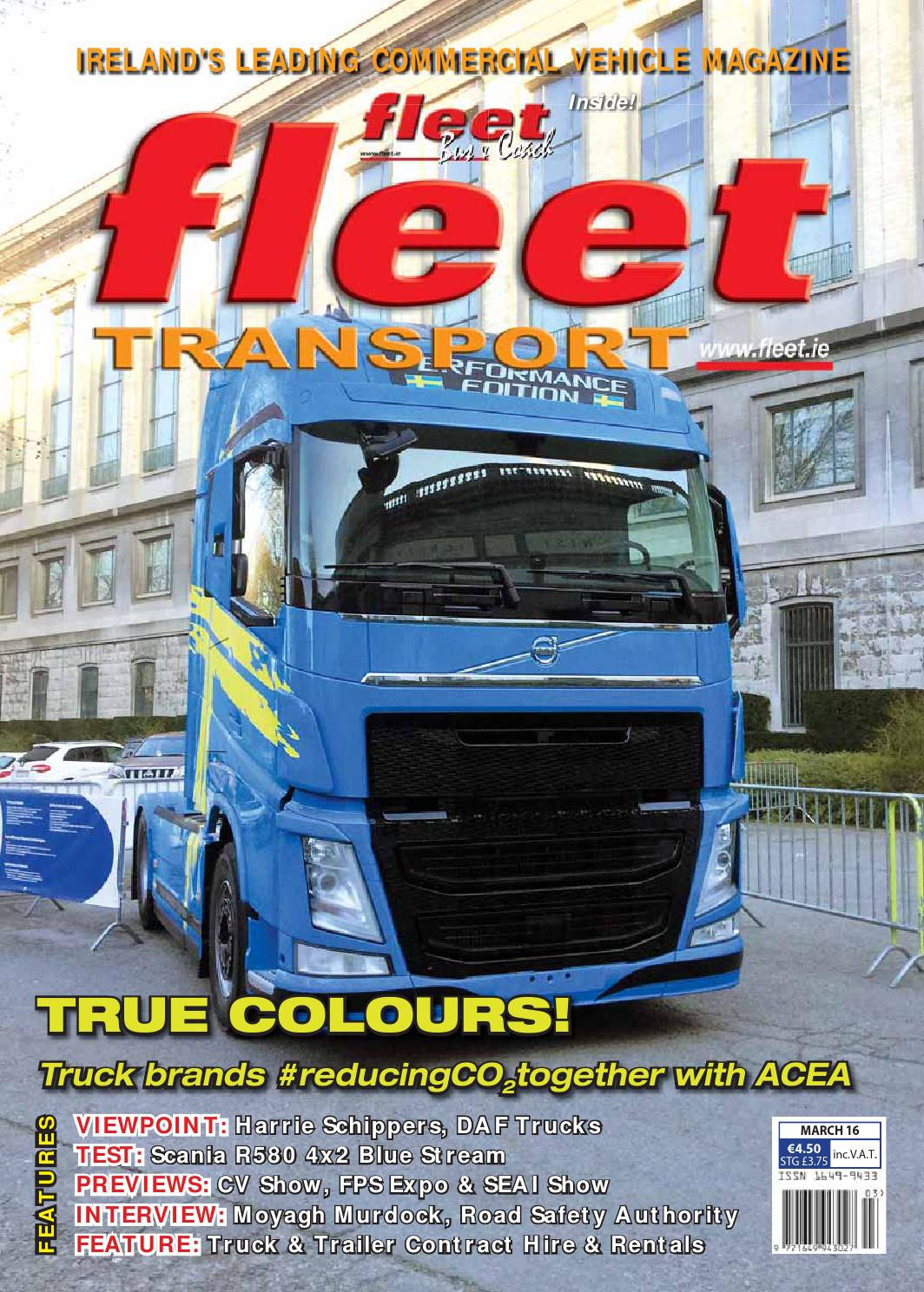 Fleet Transport March16 Webfull By Issuu Electrical Building Wiring 8211 Safety Methods And Materials