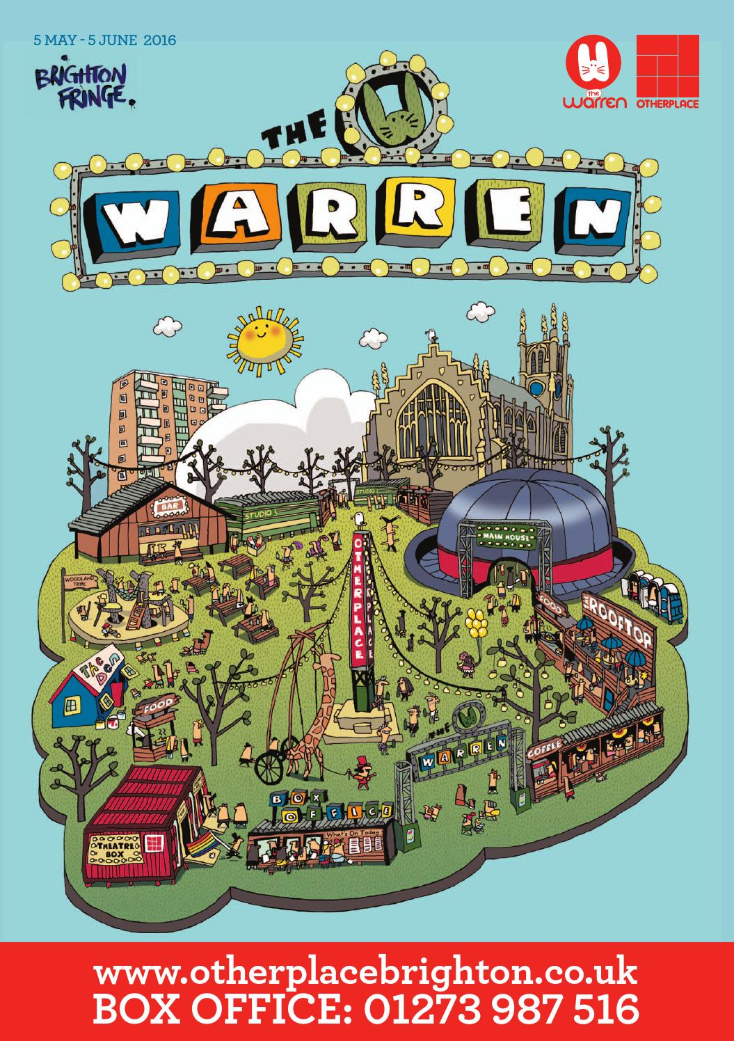 The Warren; 2016 Fringe Festival Brochure by Otherplace - issuu