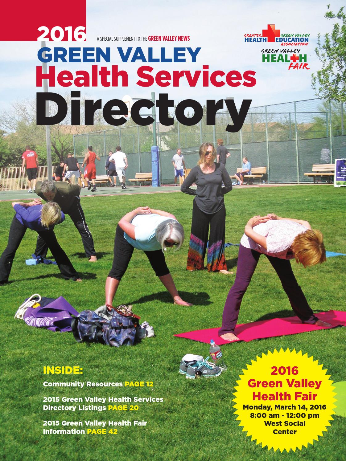 Green Valley Health Services Directory
