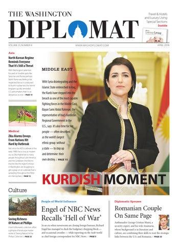 f546ccaf4e April 2016 by The Washington Diplomat - issuu