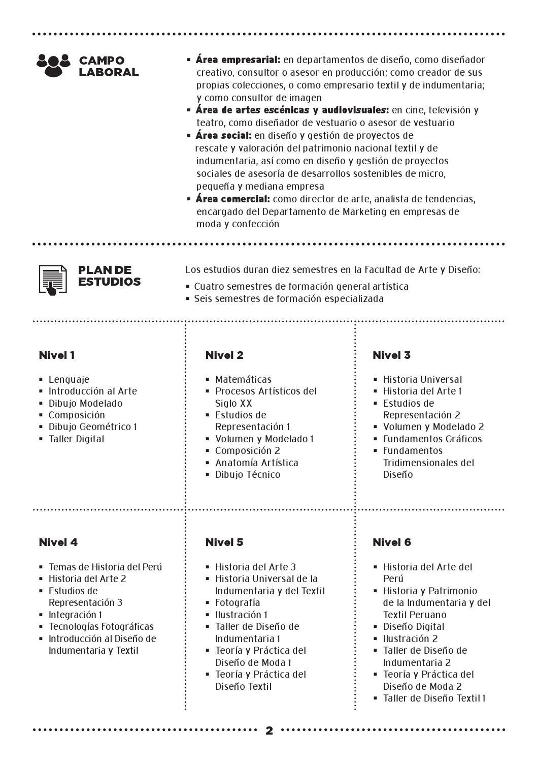 Arte, Moda y Diseño Textil by Zona Escolar PUCP - issuu