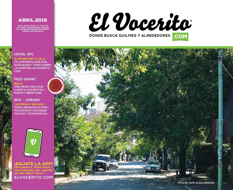 Revista El Vocerito Ed Abril 2016 By Elvocerito Com Revista  # Barre Duque Muebles