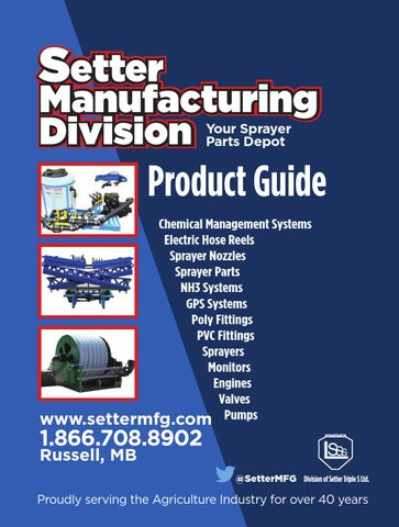 Setter mfg product guide by the western producer issuu page 1 freerunsca Image collections
