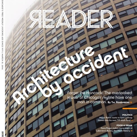 4117f527fa33 Chicago Reader: print issue of March 31, 2016 (Volume 45, Number 25)