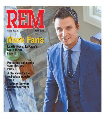 April 2016 by Real Estate Magazine (REM) - issuu