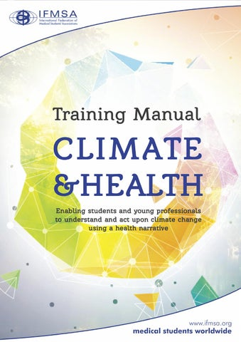 ifmsa training manual on climate health by international