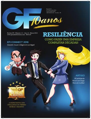 Revista GF+ Edição nº 110   Março 2016 by Revista Grandes Formatos ... 07108f99db